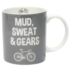 mud sweat and gears mug