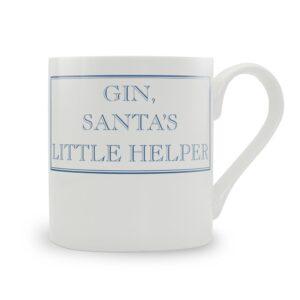 Gin, Santa's Little Helper Mug