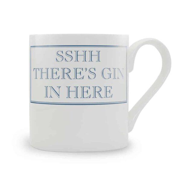 shh there's gin in here mug