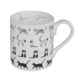 Purrfect China Mug