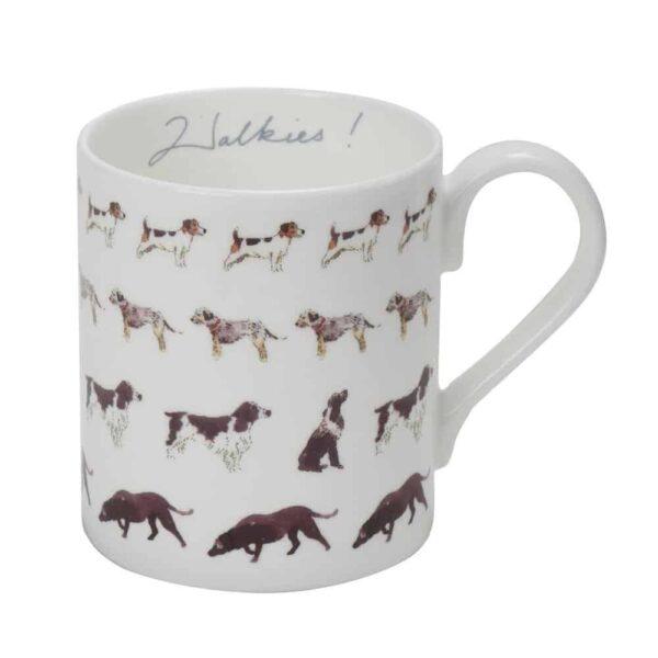 walks bone china mug