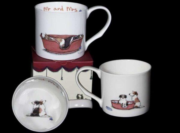 mr & mrs mug box