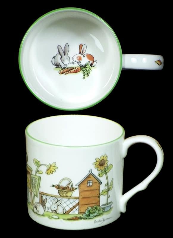 bunny boulevard mug inside