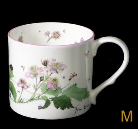 bramble blossom mug