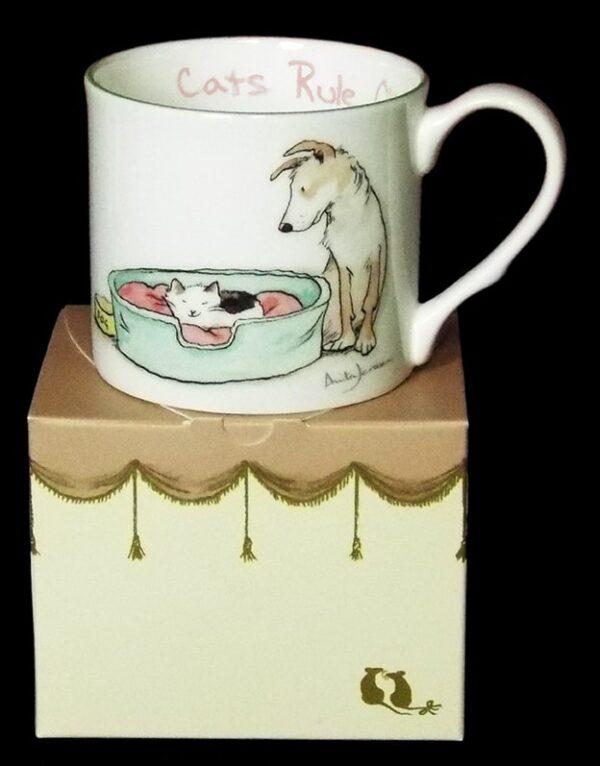cats ruke mug inside