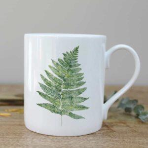 woodland fern mug