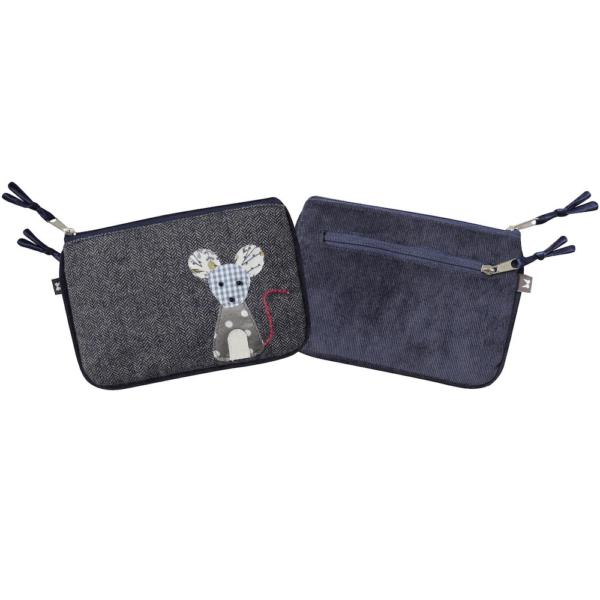 blue mouse purse