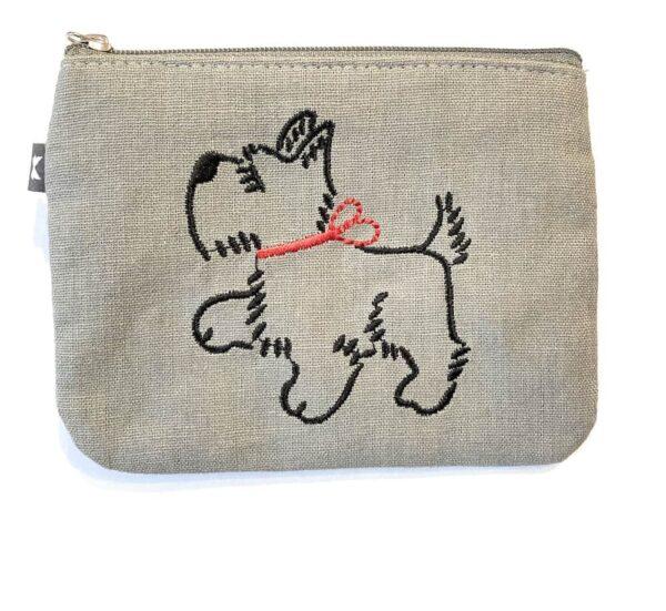 scottie dog purse