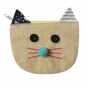 cat's head purse