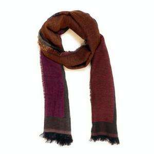 black red scarf