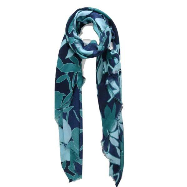 navy jade scarf