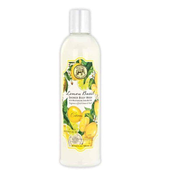 lemon basil shower wash