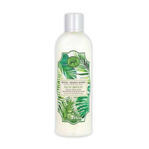 Palm breeze shower wash