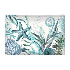 Ocean Tide Glass Soap Dish