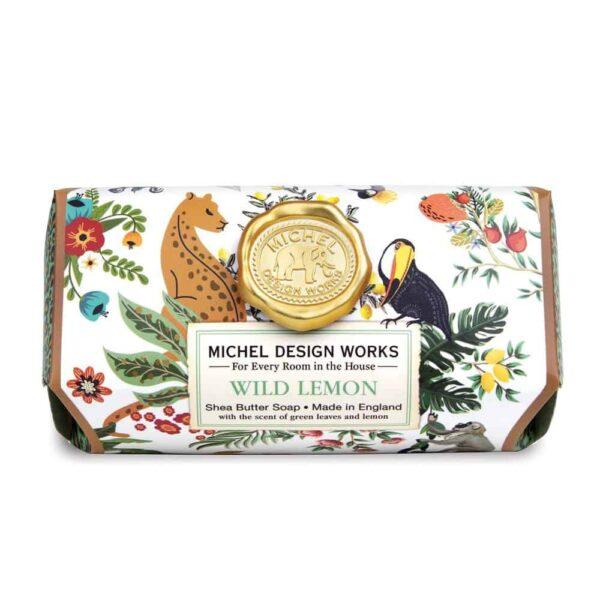 Wild Lemon Shea Butter Soap Bar