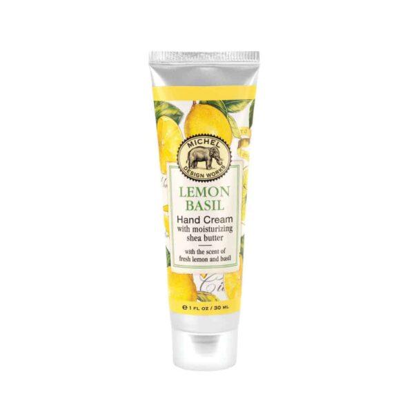 lemon basil hand cream