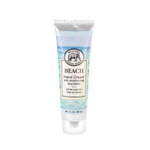 beach hand cream