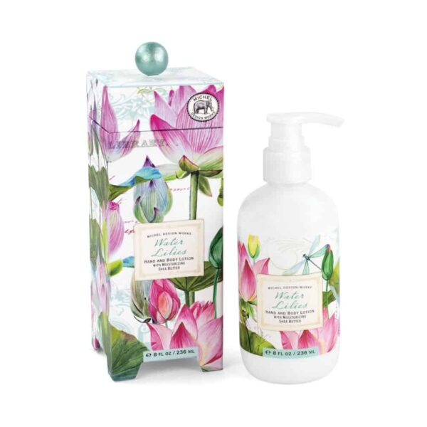 water lilies hand lotion