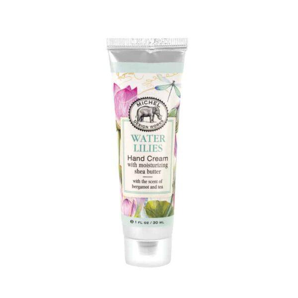 water lilies hand cream
