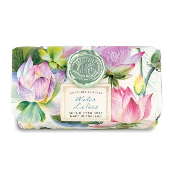 water lilies shea soap