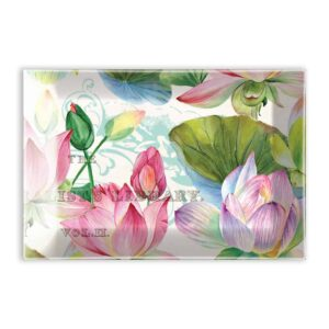 water lilies soap dish