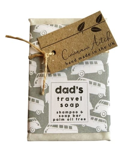 dad's travel soap
