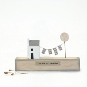 you are my sunshine wooden scene