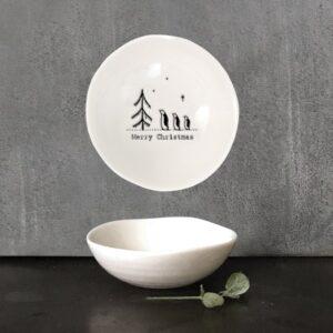 merry christmas bowl