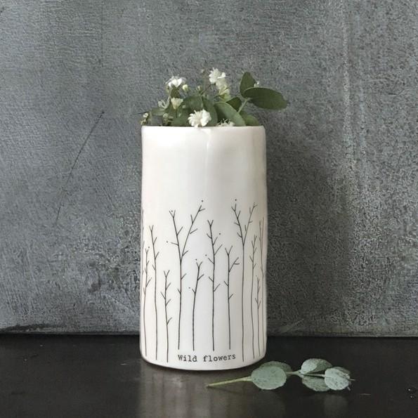 wild flowers vase