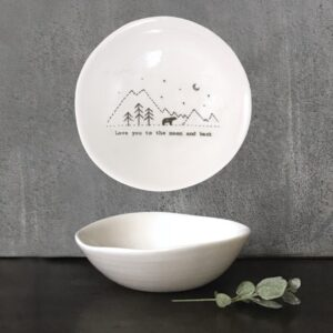 wobbly bowl moon and back