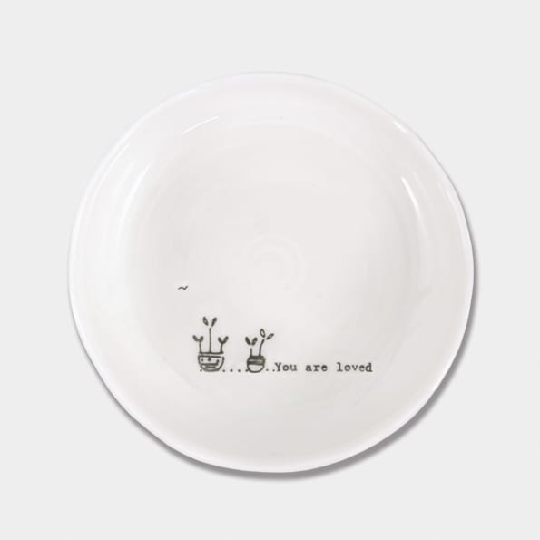trinket dish you are loved