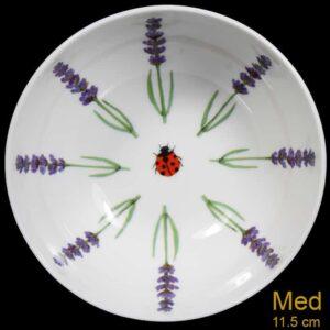 medium lavender bowl