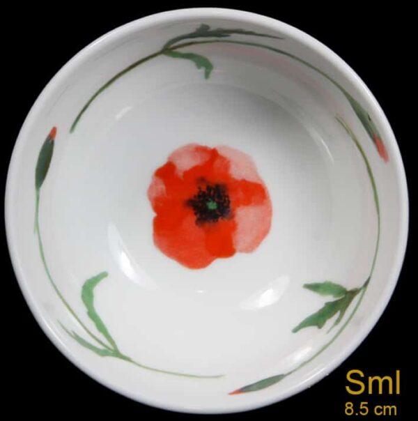 small poppy bowl