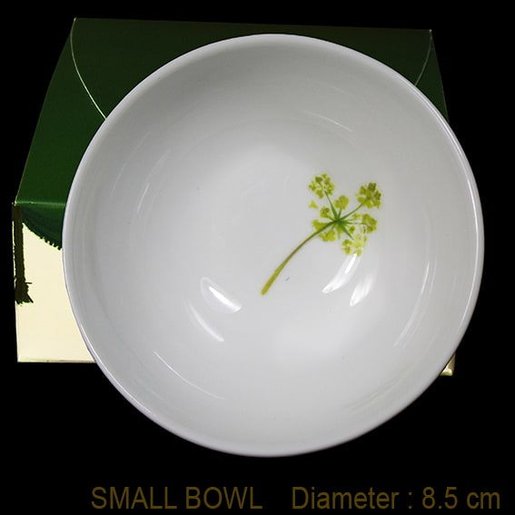 queen anne's lace bowl
