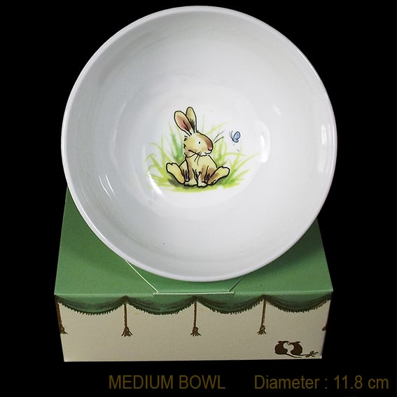 bunny butterly bowl box