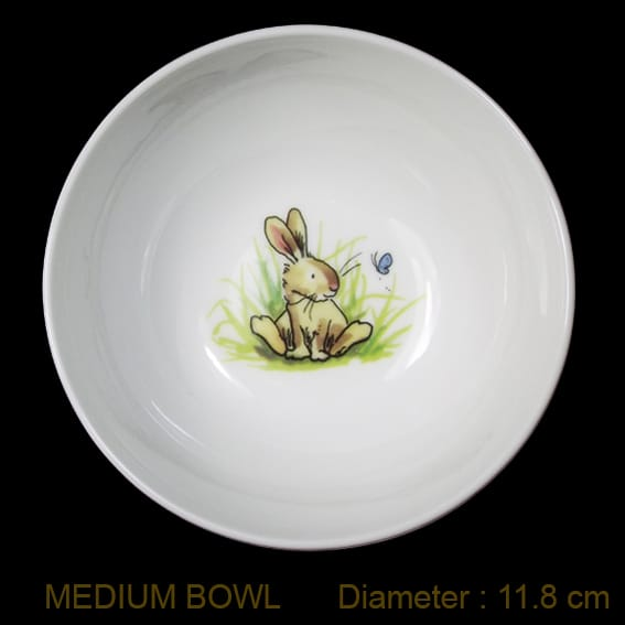 bunny butterly bowl