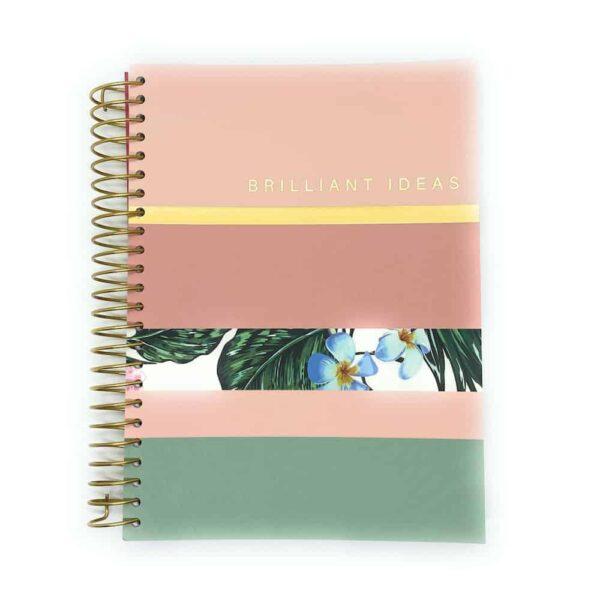 brilliant ideas spiral a5 notebook