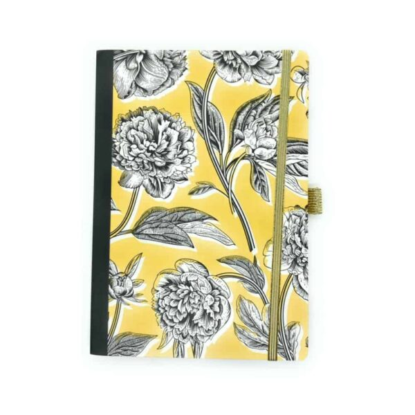 black and gold a5 notebook