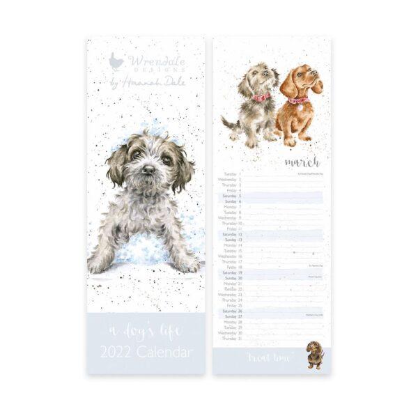 A Dog's Life Slim Calendar 2022