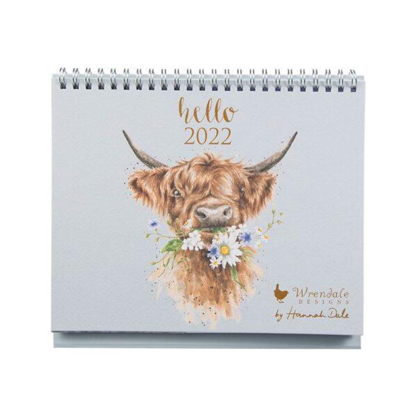 Hello 2022 Desk Calendar