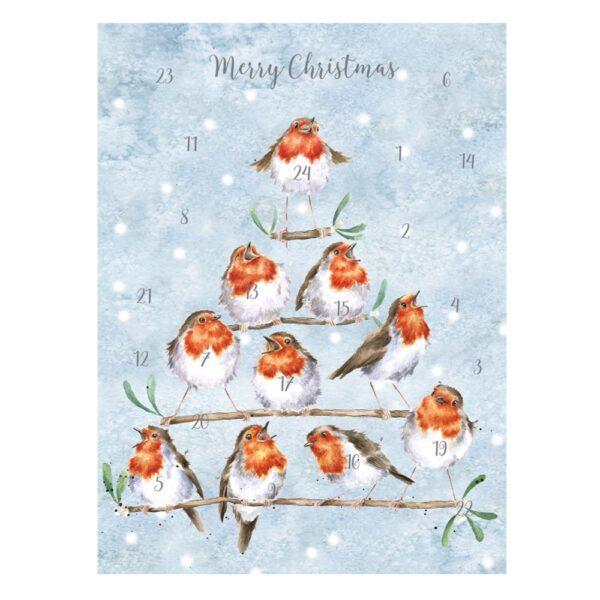 Rockin Robins Advent Calendar