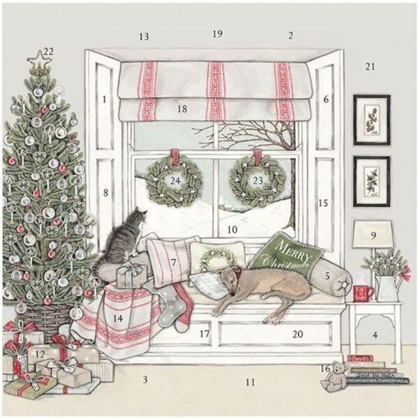 Waiting For Father Christmas Advent Calendar
