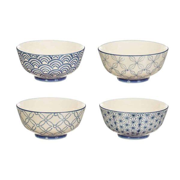 sashiki patterned bowls