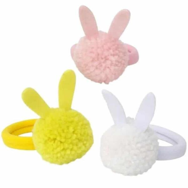 bunny hair ties