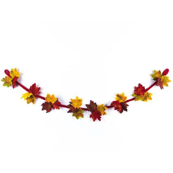 Autumnal Felt Garland