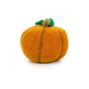 Handmade Felt Pumpkin - Orange