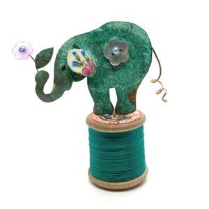 elephant bobble assemblage